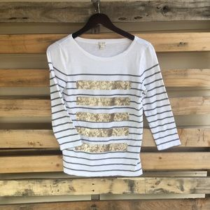 J Crew Cotton T Shirt Size Small